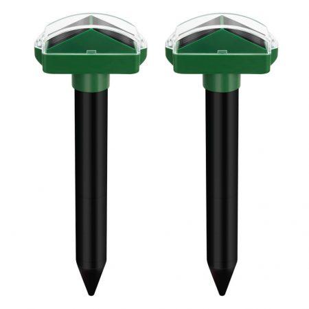 Best Sonic Mole Repeller Solar Powered Mole Repeller
